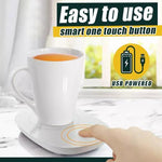 USB Heater Mugs Coaster Kitchen trillionwish