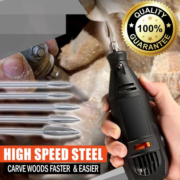 Wood Carving & Engraving Drill Bit Set sunnyfoxy