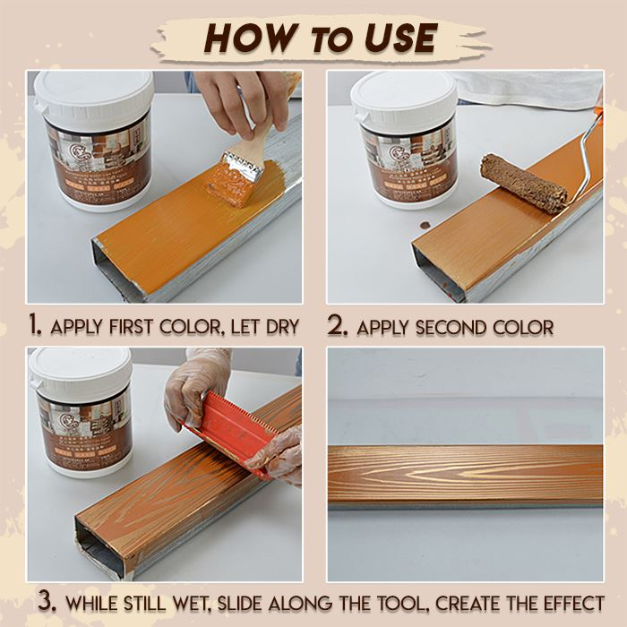 Wood Graining DIY Tool Set GoodbyeSmile