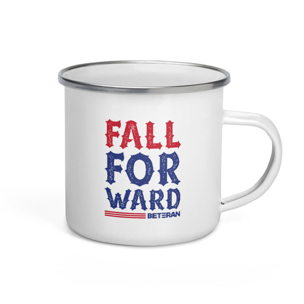 Fall Forward Enamel Mug