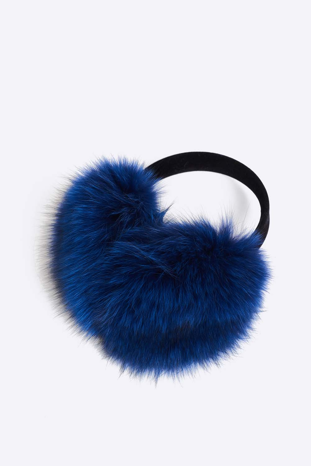 Classic upcycled fox fur earmuffs. Ultra soft and warm earmuffs. They have a polyester lining and velvet trim. Cut, dyed and stitched by hand. Hand made in Montreal.