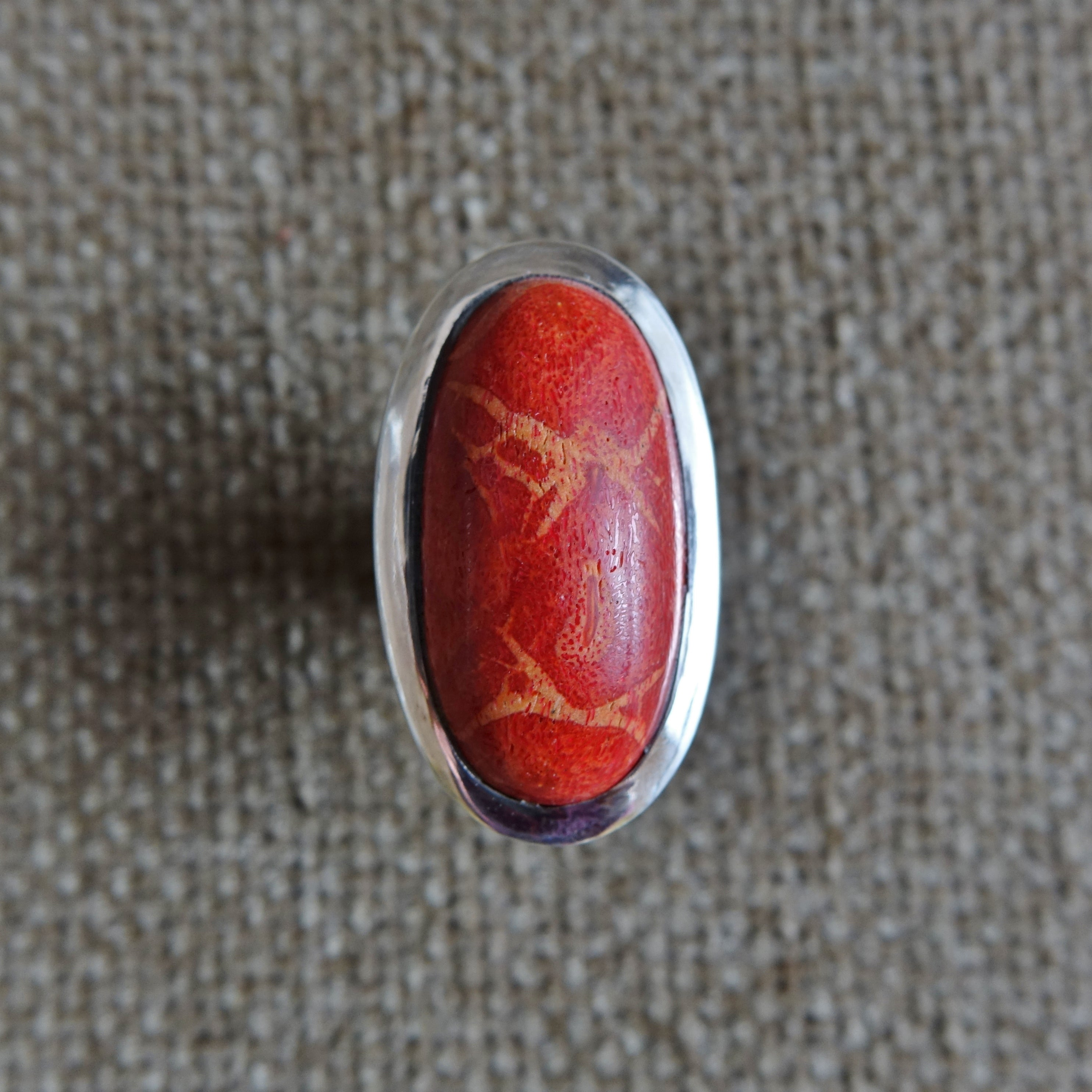 Ring Red Coral