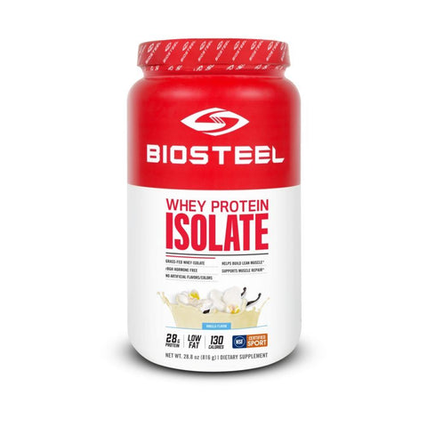 WHEY PROTEIN ISOLATE / VANILLA - 24 SERVINGS - Begrip Gaming