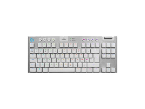 Logitech G915 LIGHTSPEED TKL Wireless Gaming Keyboard White - Begrip Gaming