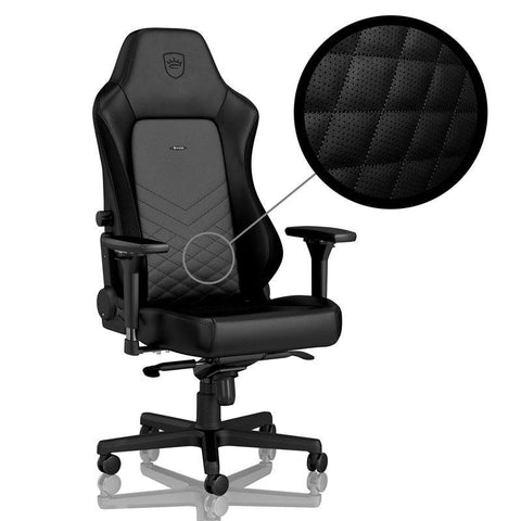 HERO Gaming Chair - Black/Black - Begrip Gaming