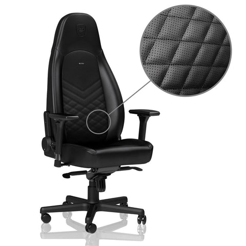 ICON Series Faux Leather Black - Begrip Gaming