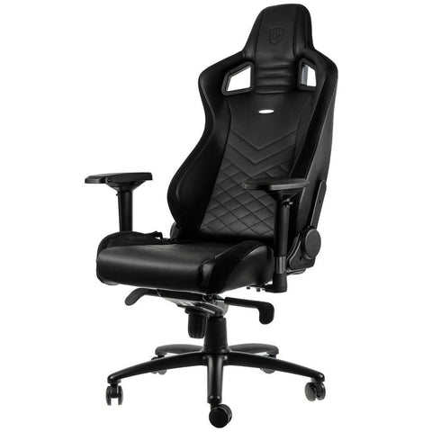 EPIC Series Real Leather Black - Begrip Gaming