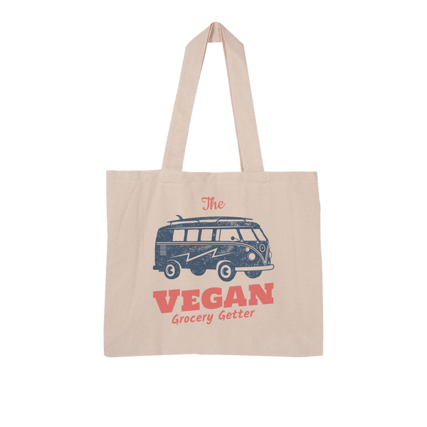 Organic Vegan Grocery Getter Collection Large Organic Tote