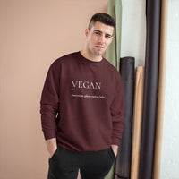 Champion Sweatshirt - Vegan Definition - Unisex