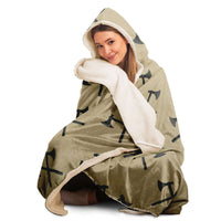 Ax Hooded Blanket