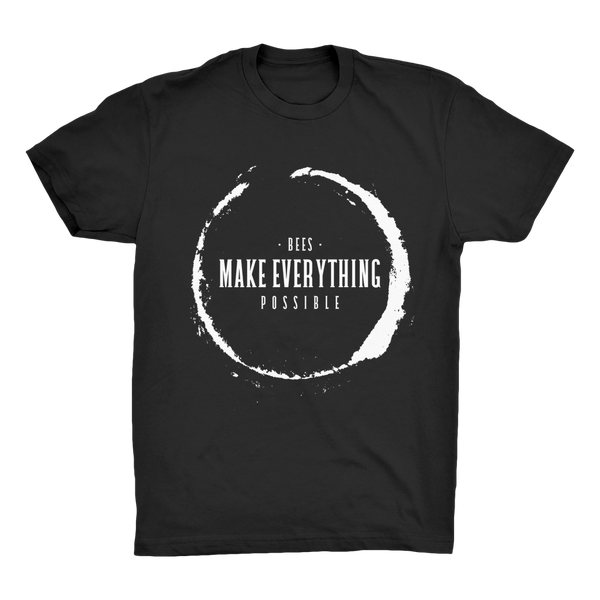 Bees Make Everything Possible Organic Cotton Tee - Unisex
