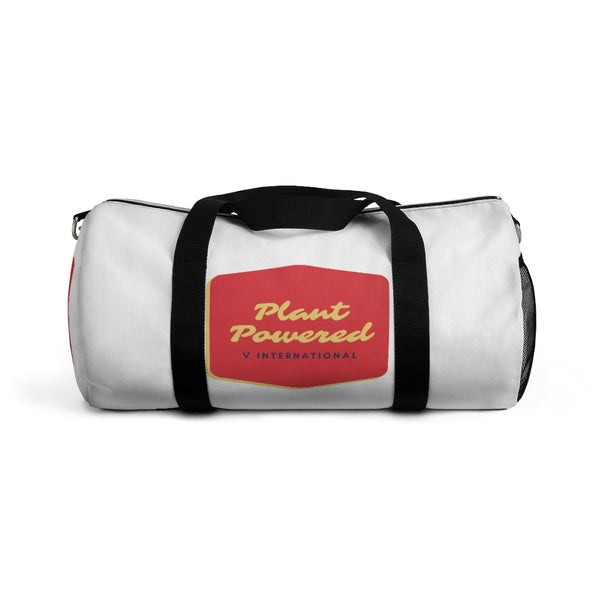 Retro Plant Powered Duffel Bag