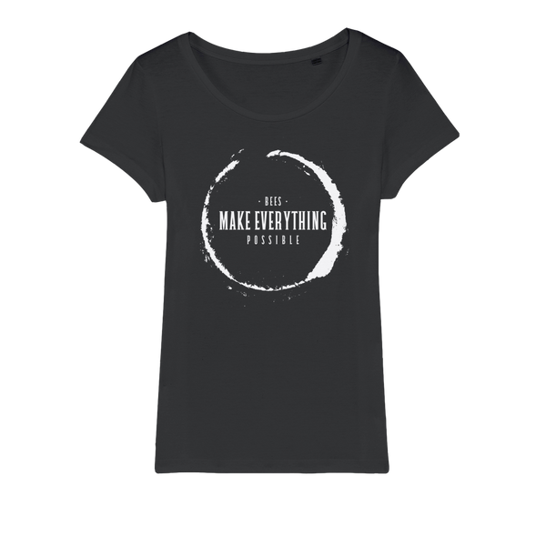 Bees Make Everything Possible Organic Cotton Tee - Women's