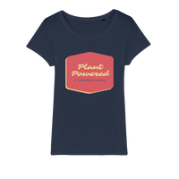 Organic Vegan Plant Powered Organic Cotton Tee - Women's