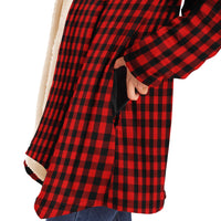 Little Buffalo Plaid Hooded Sweater