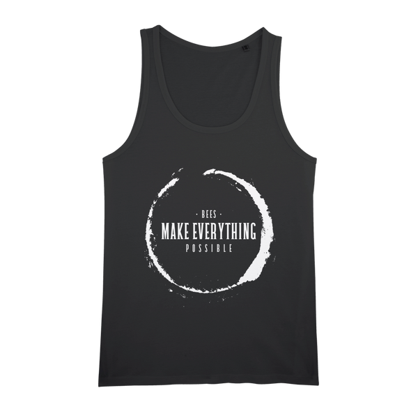 Bees Make Everything Possible Organic Tank - Unisex