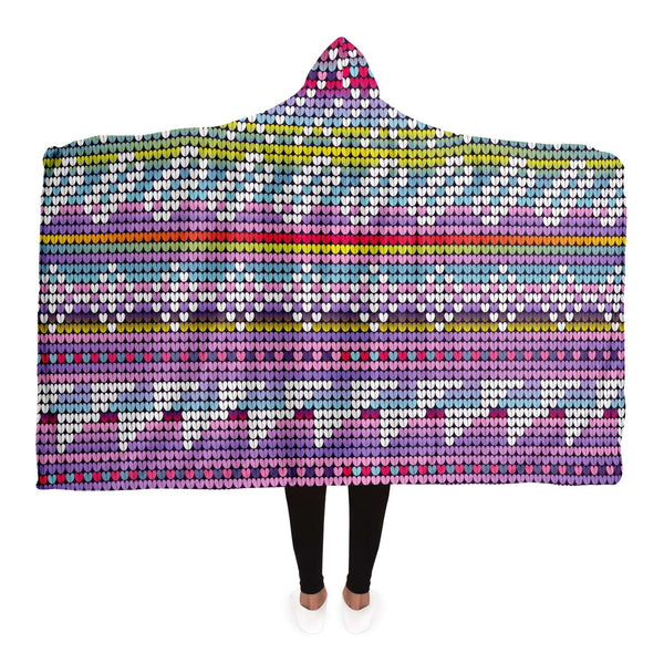 Neon Hooded Blanket