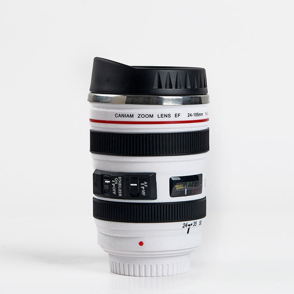 Stainless Steel Camera EF24-105mm Coffee Lens Mug