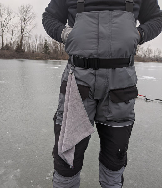 Ice Fishing Towel with Caribeaner