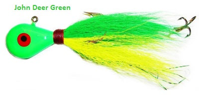 Venom High Dollar Hair Jigs - Top 3 Colors