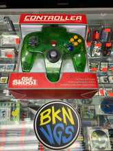 Load image into Gallery viewer, Nintendo 64 Controller jungle green (old skool)