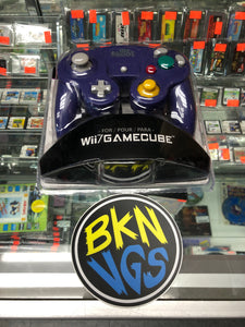 Game Cube Controller indigo. (Old skool)
