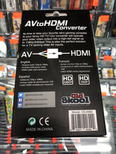 Load image into Gallery viewer, Av to Hdmi Convertor.