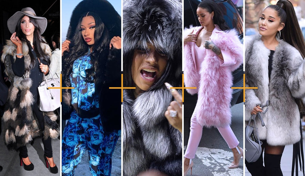 10 favorite Celebrities who wear fur