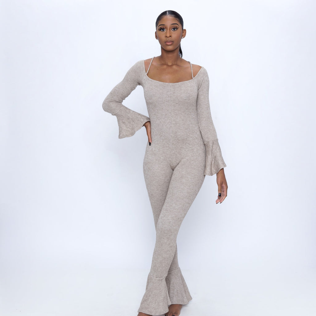 You must have our Flared Long Sleeve Bodysuit