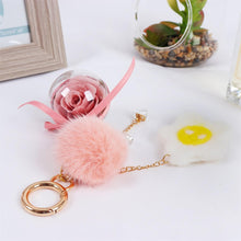 Load image into Gallery viewer, bag charms Preserved Flower Eternal Rose Cute Decoration Accessories for Crossbody Bag lightue