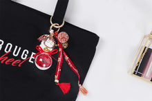 Load image into Gallery viewer, charm for bags Preserved Flower Eternal Rose Cute Decoration Accessories for Cotton Bag lightue