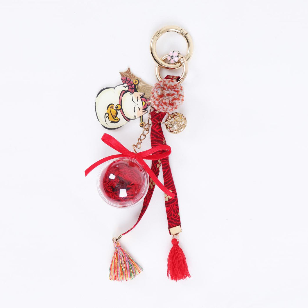 charm for bags Preserved Flower Eternal Rose Cute Decoration Accessories for Cotton Bag lightue