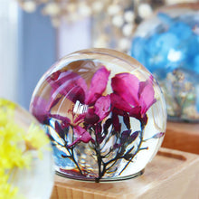 Load image into Gallery viewer, unique gifts for women Peregrina Crystal Ball Bluetooth Speaker with LED Mood Light lightue