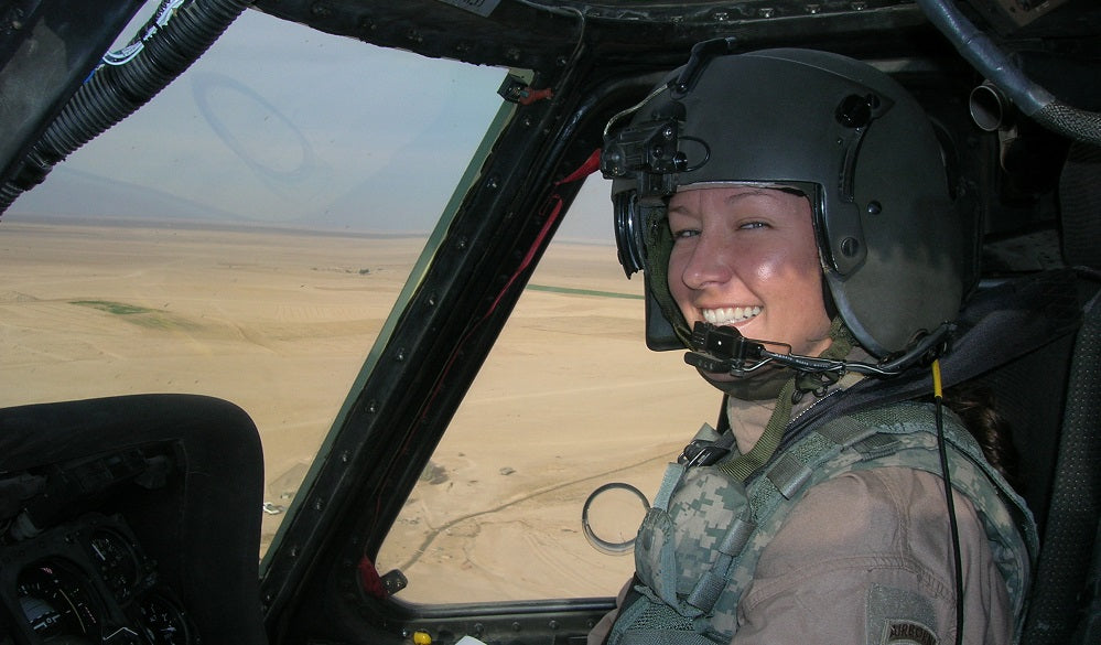 Stay at home mom can pilot a Blackhawk