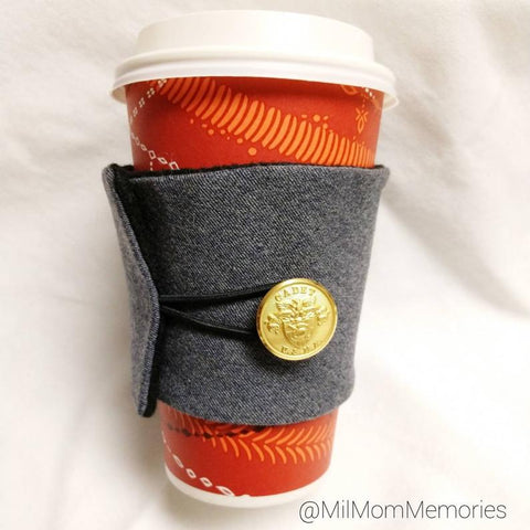 USMA Cadet Uniform Coffee Cozy