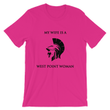 Unisex Short Sleeve Jersey T-shirt - Wife