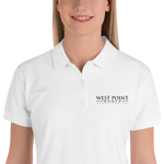 Women's Embroidered Polo- West Point Women