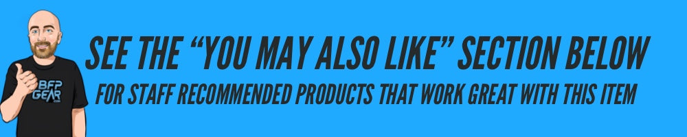 """See the """"You May Also Like"""" section below for staff recommended products that work well with this item!"""