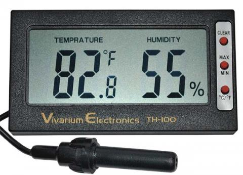 Vivarium Electronics Digital Thermo-Hygrometer