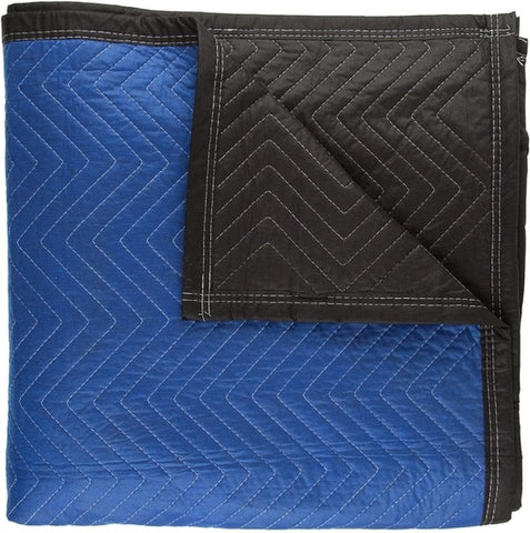 blue moving blanket for moving heavy household furniture