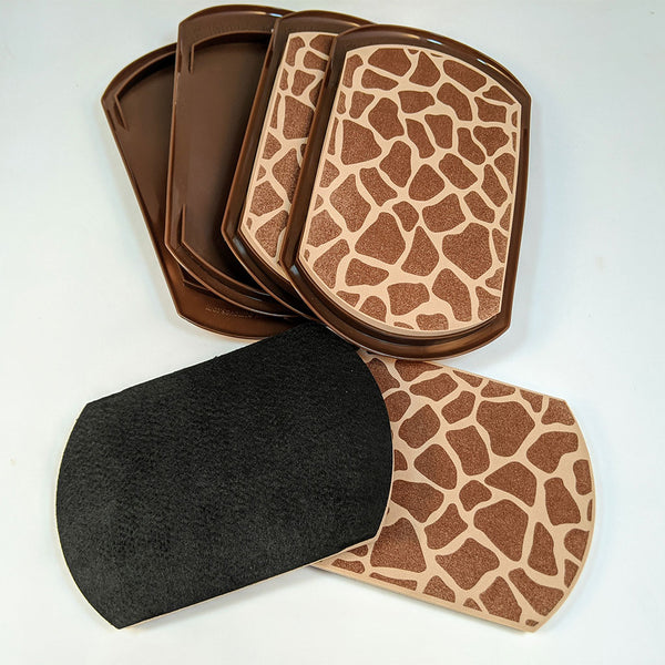 2-In-1 Furniture Slides, Animal Print (Set of 4)