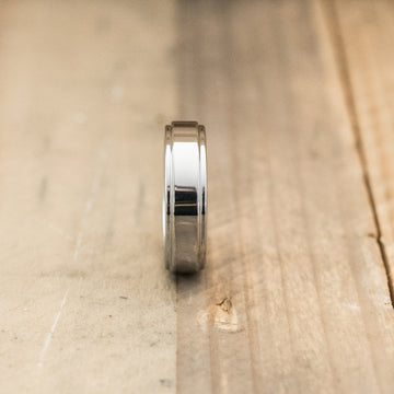 6mm Tungsten Carbide Step Edge Ring