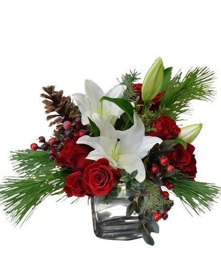 EFX119 Christmas Joy - Euro Flowers Mississauga ON
