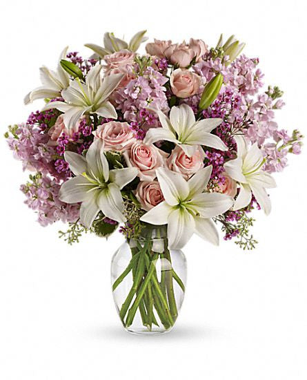 EFV119 Blossoming Romance - Euro Flowers Mississauga ON