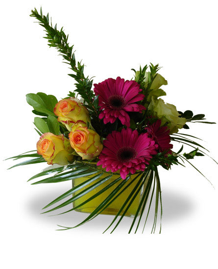 EF603 Sunset Bouquet - Euro Flowers Mississauga ON