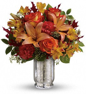 EF810 Fall Blush Bouquet - Euro Flowers Mississauga ON