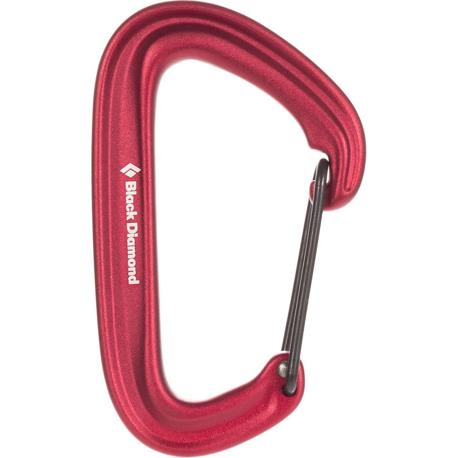 Black Diamond Litewire Carabiner - Red