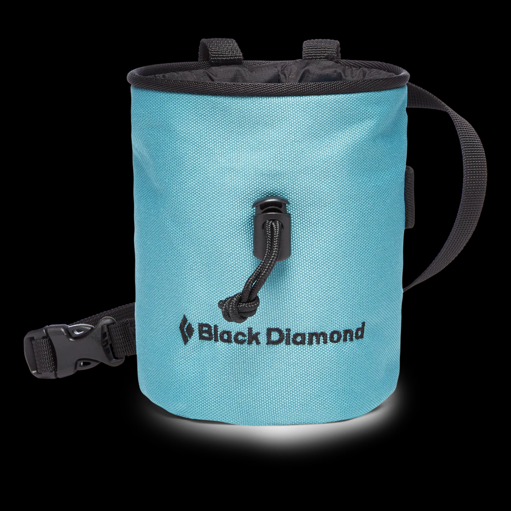 Black Diamond Mojo Chalk Bag - Caspian