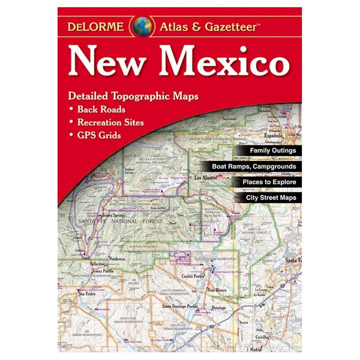 Delorme New Mexico Map Book