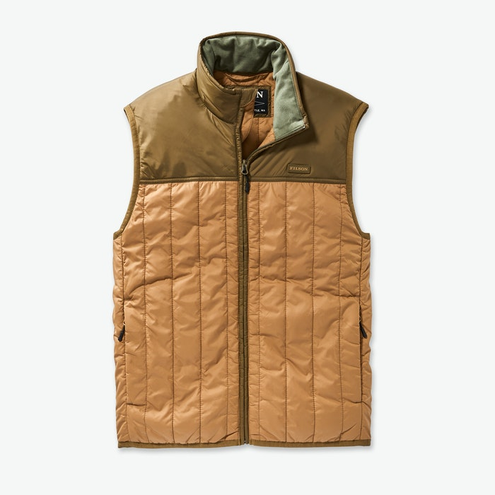 Filson Ultralight Vest - Men's - DrkTan